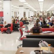 Space to collaborate in the learning commons