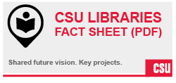 CSU Libraries Fact Sheet (PDF)