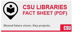 CSU Libraries Fact Sheet (PDF)